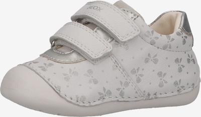GEOX Lauflernschuh in silber / weiß, Produktansicht