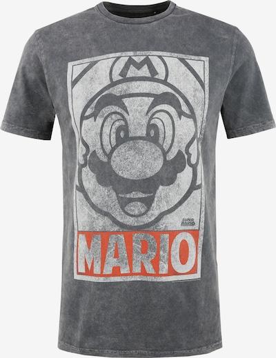 Recovered T-Shirt en gris / rouge rouille, Vue avec produit