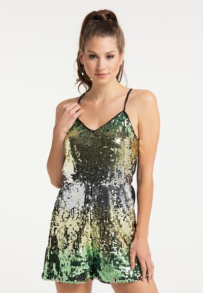 myMo at night Combinaison en or / vert / noir / argent, Vue avec modèle