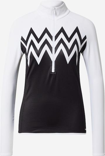 CMP Sportovní mikina - černá / bílá, Produkt