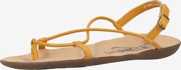 FLY LONDON Sandale in Gelb