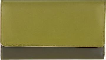 mywalit Geldbörse Leder 19 cm in Grün