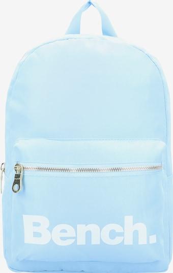 BENCH Rucksack 'City Girls' in pastellblau / weiß, Produktansicht