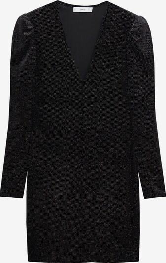 MANGO Robe de cocktail 'Viky' en brocart / noir, Vue avec produit