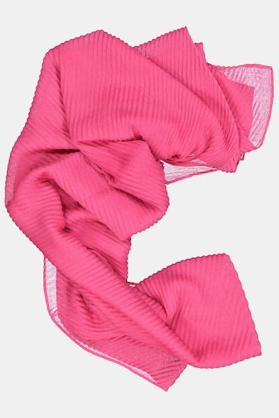 Gina Laura Plisseeschal in rosa / neonpink, Produktansicht