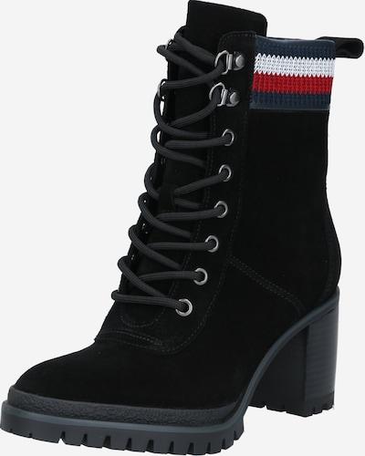 TOMMY HILFIGER Stiefel in navy / rot / schwarz / weiß, Produktansicht