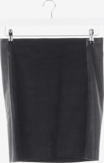 DRYKORN Lederrock in S in schwarz, Produktansicht