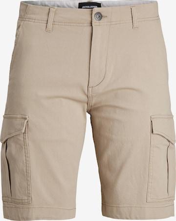 Pantaloni 'Joe' de la Jack & Jones Junior pe bej