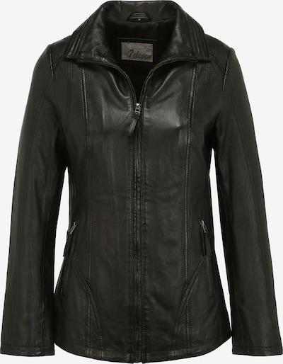 7ELEVEN Lederjacke HANNE in schwarz, Produktansicht