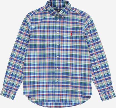 POLO RALPH LAUREN Overhemd in de kleur Blauw / Geel, Productweergave