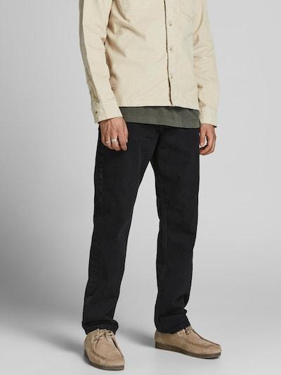 JACK & JONES Jeans 'Rob' in de kleur Black denim, Modelweergave