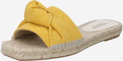 JUTELAUNE Pantolette in gelb, Produktansicht