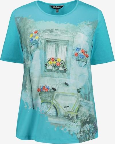 Ulla Popken Shirt in blau: Frontalansicht