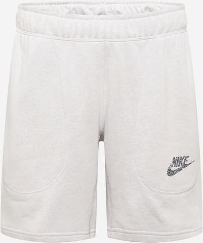 Nike Sportswear Sweatshorts in schwarz / weiß, Produktansicht