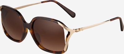COACH Solglasögon '0HC8280U' i brun / guld, Produktvy