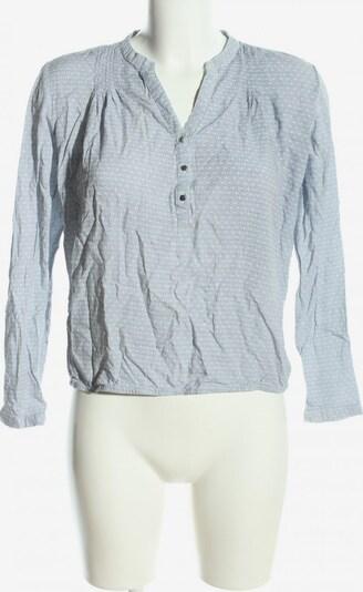 Reserved Langarm-Bluse in M in hellgrau, Produktansicht