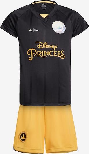 Completo per l'allenamento 'Disney' ADIDAS PERFORMANCE di colore giallo oro / nero, Visualizzazione prodotti