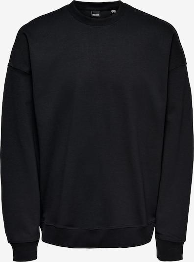 Only & Sons Sweatshirt 'Filip' in Black, Item view