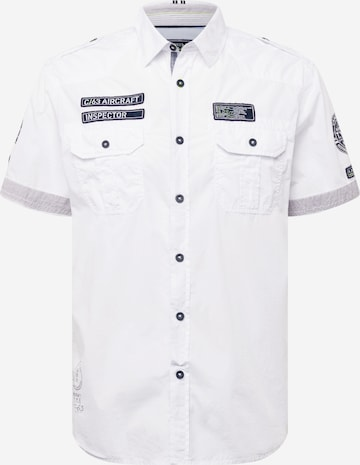 CAMP DAVID Hemd in Weiß
