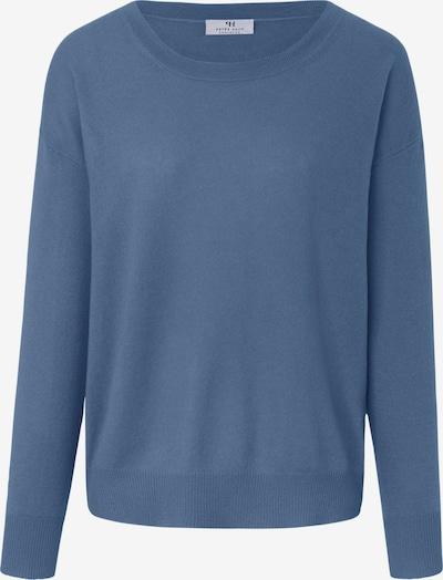 Peter Hahn Rundhals-Pullover in blau / hellblau, Produktansicht