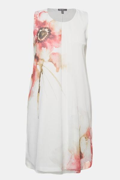Ulla Popken Kleid in offwhite, Produktansicht
