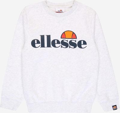 ELLESSE Sweatshirt 'Siobhen' in nachtblau / hellgrau / orange / orangerot / weiß, Produktansicht
