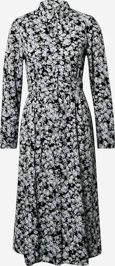 PIECES Robe-chemise en noir / blanc, Vue avec produit