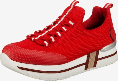 RIEKER Platform trainers in Fire red / White, Item view