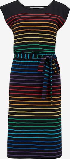 Sugarhill Brighton Haljina 'Hetty Night Rainbow ' u plava / žuta / zelena / ljubičasta / narančasta / crvena / crna, Pregled proizvoda