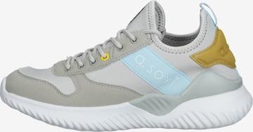 a.soyi Sneakers laag in Grijs
