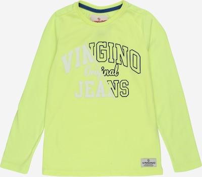 VINGINO Shirt 'Jackx' in neongelb / schwarz / weiß, Produktansicht