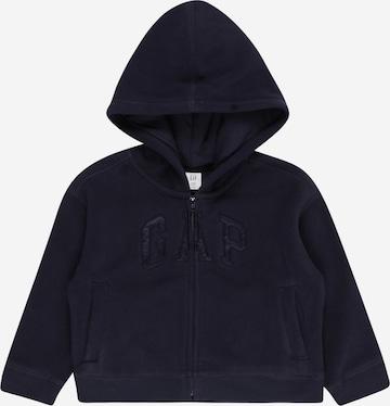 Jachetă  fleece de la GAP pe albastru