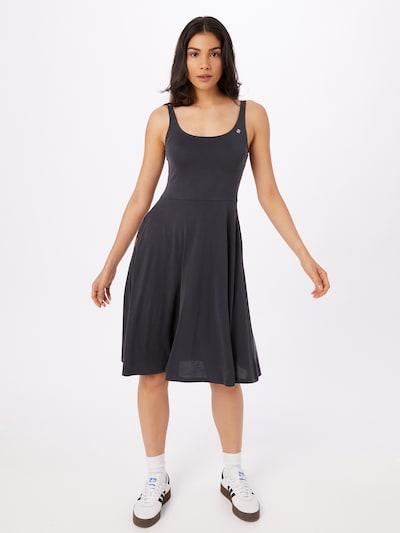 Ragwear Kleid 'Trisha' in schwarz, Modelansicht
