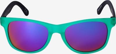 Six Lunettes de soleil en bleu / vert / violet / noir, Vue avec produit