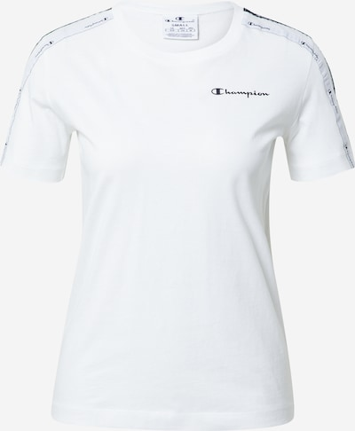 Champion Authentic Athletic Apparel Shirts i sort / hvid, Produktvisning