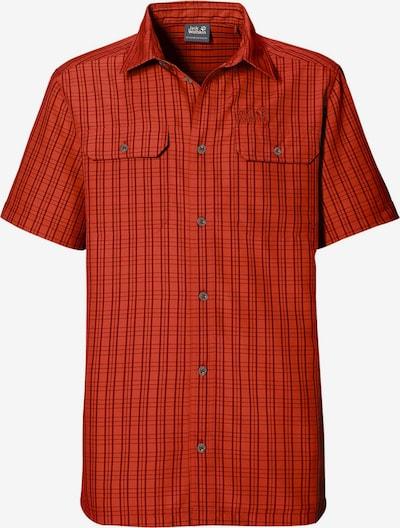 JACK WOLFSKIN Hemd in orangerot, Produktansicht