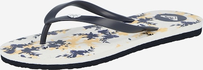 ROXY Sandalias de dedo 'TO THE SEA DITSY' en navy / blanco, Vista del producto