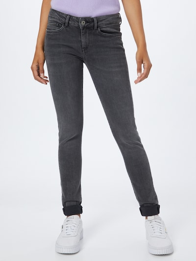 Pepe Jeans Jeans 'PIXIE' in black denim, Modelansicht