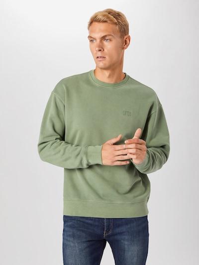 LEVI'S Sweatshirt 'AUTHENTIC' in pastellgrün: Frontalansicht