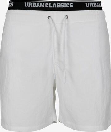 Urban Classics Ujumispüksid, värv valge