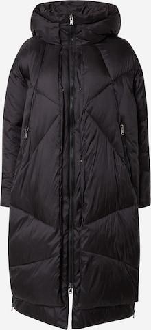 juoda Canadian Classics Žieminis paltas 'EUGENIE'