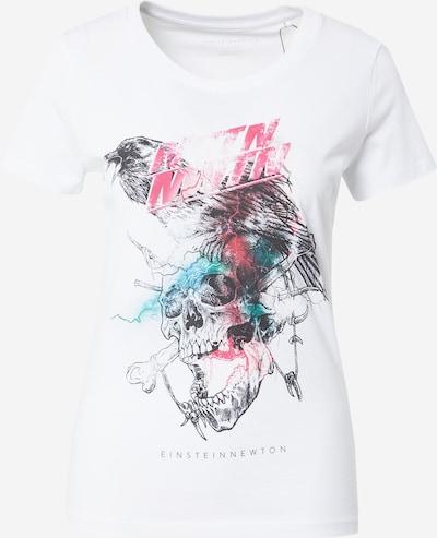 EINSTEIN & NEWTON T-shirt en turquoise / rose / noir / blanc, Vue avec produit