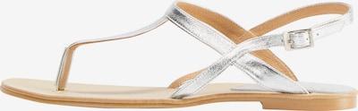 IZIA Sandale in silber, Produktansicht