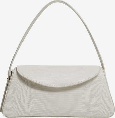 MANGO Ročna torbica | pegasto bela barva, Prikaz izdelka