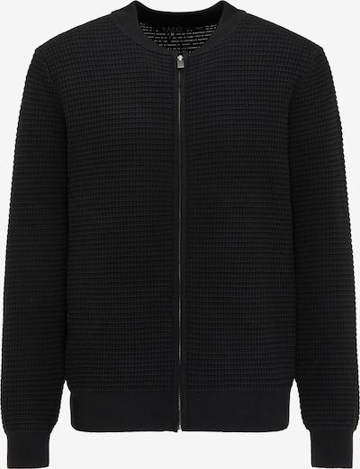 Geacă tricotată RAIDO pe negru, Vizualizare produs