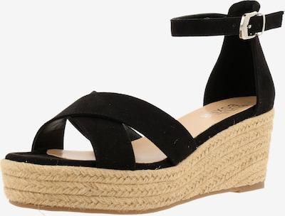 BULLBOXER Sandale in beige / schwarz, Produktansicht