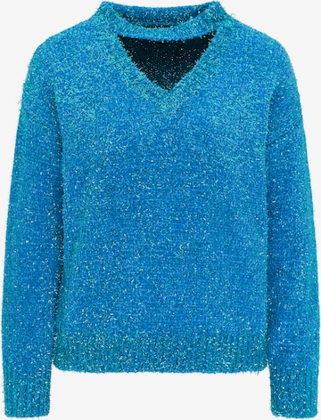 myMo at night Pullover in Blau