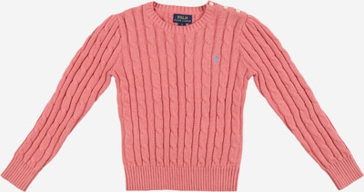POLO RALPH LAUREN Pullover 'CABLE' in hellblau / pink, Produktansicht