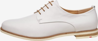LLOYD Schuhe mit Kontrastschnürung in weiß, Produktansicht