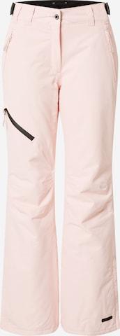 rožinė ICEPEAK Sportinės kelnės 'CURLEW'